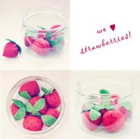 strawberry by LittleFlair