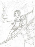 Green Arrow And Die Letzte by FG-Arcadia
