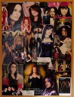 Metal Ladies Collage by crystalfalls