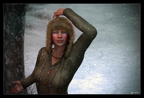 Snowflakes That Stay on My Nose and Eyelashes... by mylochka