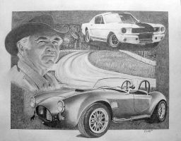 Carroll Shelby, the legend by donwold