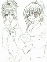 Me and A-Chan by CopyKitty789