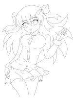 Free 2 Color :: Lineart by Megumita0w0