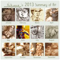 2013 Art Summary by Lehanan