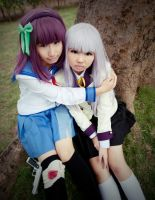 Angel Beats by yivonvon
