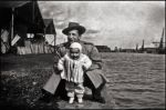Baby Nils and his father by SUDOR