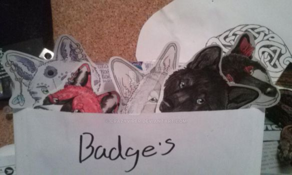Badge party! by CrazyViper