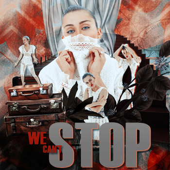 We Can't Stop ft Miley Cyrus   Wall   by BeautifulEditions94