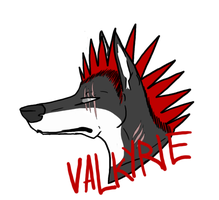 Valkyrie badge by epidemic-freakhound