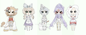 YuuSan Collab -Wizard of OZ themed- {Auction OPEN} by Yu-Tanni