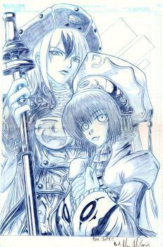 Trinity Blood commission by RedShoulder