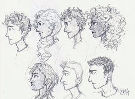 The Seven by ellaupear