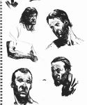 Brush Sketches by dougdabbs