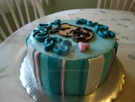 Side View PND Cake by PnJLover