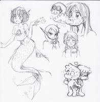 Monsters and monsters by Rakugaki-otoko