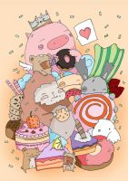 The Cake Party by injuryordeath