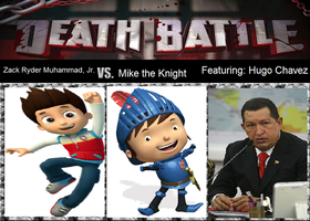 Death Battle - Ryder vs. Mike ft. Hugo Chavez by MatthewJabezNazarioI