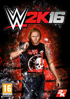 WWE 2K16 poster - Heath Slater by Roselyne777