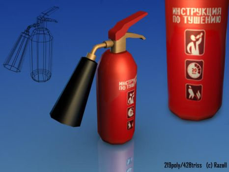 fire-extinguisher by DrAnkud