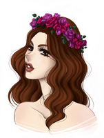 Lana Del Ray by AskaSama
