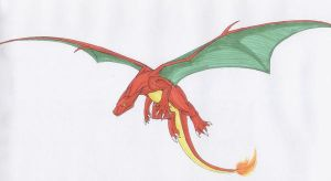 Charizard by Scatha-the-Worm