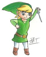 Toon Link by BroadwayBacon