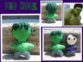 The Beast: Hulk -The Plushies- by calceil
