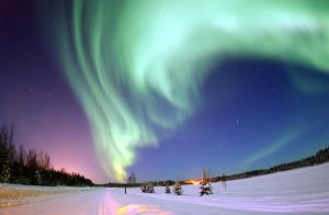 Canadian Aurora Snow 2 by jawnx108