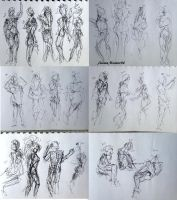297 - 320 (1000 gesture drawing challenge) by anime-master-96