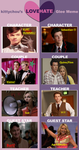 Glee love hate meme by GoldenPhoenix75