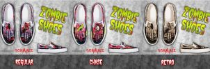 ZOMBIE shoes for ladies by corArze