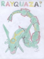 Rayquaza by PikachuHolo