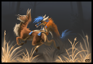 The hunt by griffsnuff