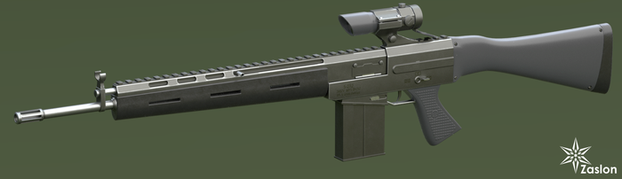 original assault rifle by Zaslon