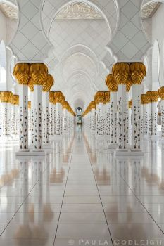 Mosque Columns by La-Vita-a-Bella
