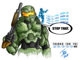 20,000: Halo Goodbye by shokxone-studios