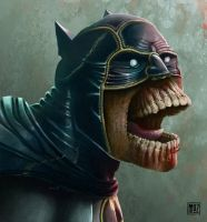 Undead Batman 2014 by muzski