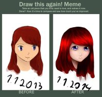 Draw this again! meme by Kastrea