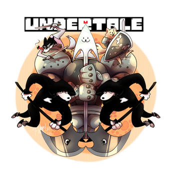 Undertale Fanart Collection 3 :: The Royal Guards by 7-Days-Luck