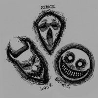 Lock, Shock, and Barrel masks by Spookyspoots