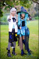 Miku witch and Piko by WhenWasThisTaken