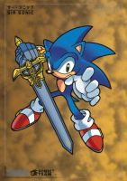 Sir sonic Knight of the wind by leonarstist06