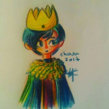 Blue king  by LinkzaurousRAW