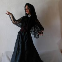Gothic Lady  Stock by eLLeRRe