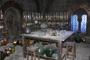 Potions Classroom I by Skarkdahn