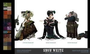 Snow White - Witch's Disguises by ArtofJessieKate