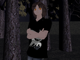 MMD - Everymanhybrid HABIT (possessed Evan) DL by inside-our-mind