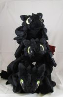 Triple Toothless 02 by MagnaStorm