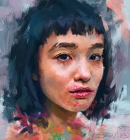Portrait study by ibesevic