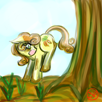 Thirty Minute Challenge: Carrot Top by RyuRedwings